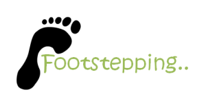 footstepping..