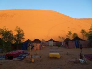Our amazing Berber camp in the Sahara Desert!